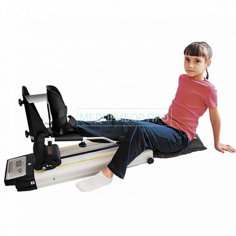 Rimec Fisiotek 3000 - аппарат для пассивной разработки суставов (CPM) нижних конечностей