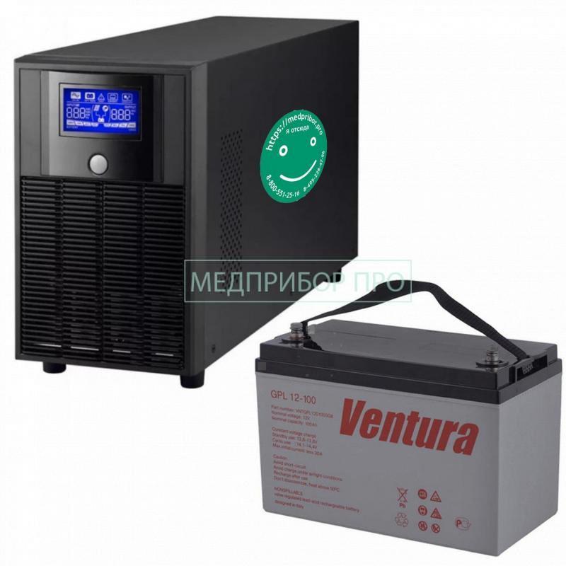 ИБП МЕД01-600ВТ-100АЧ - ИБП для СИПАП и БИПАП-аппаратов