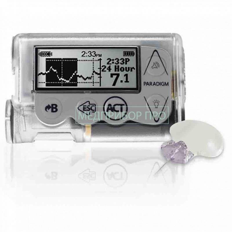 Medtronic MiniMed Paradigm VEO - инсулиновая помпа с непрерывным мониторингом