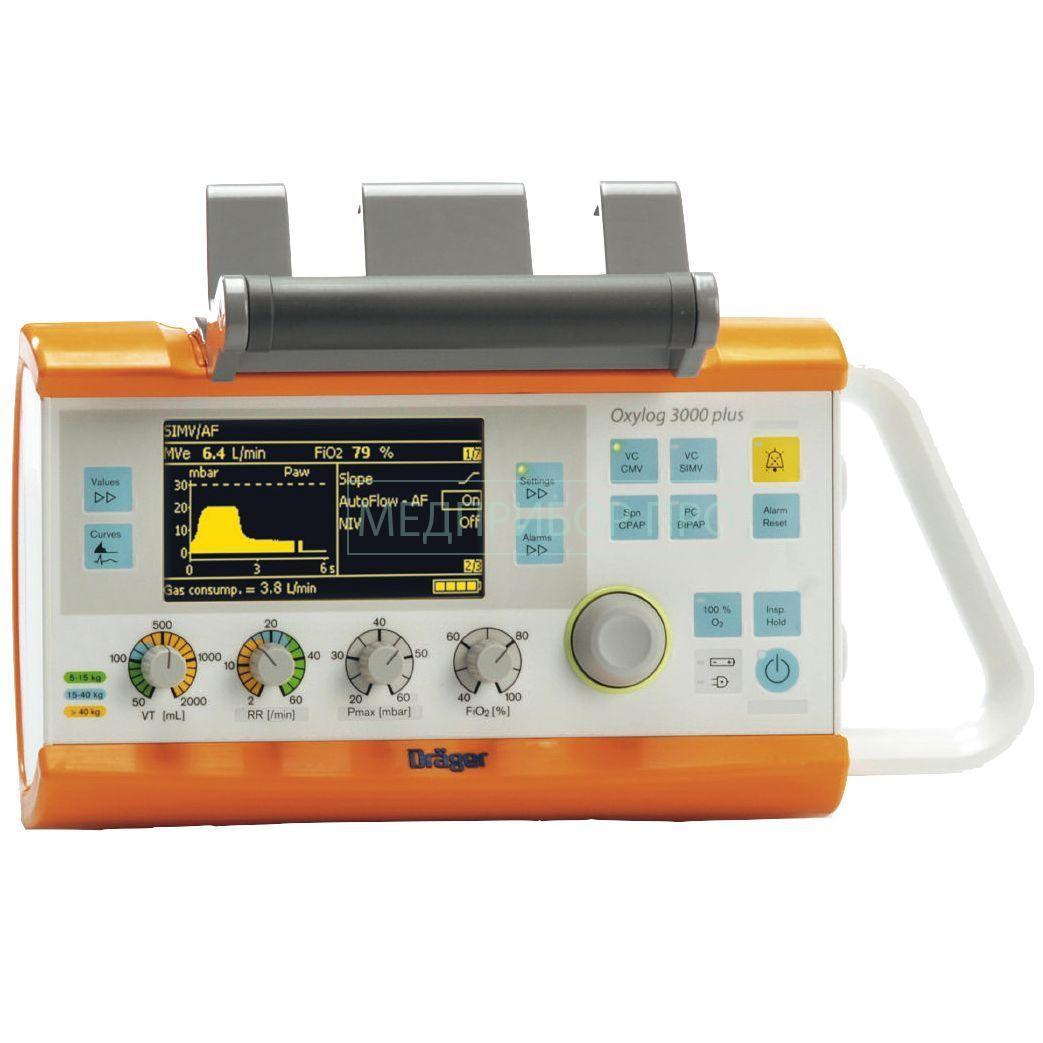 Dräger Oxylog 3000 Plus - аппарат ИВЛ