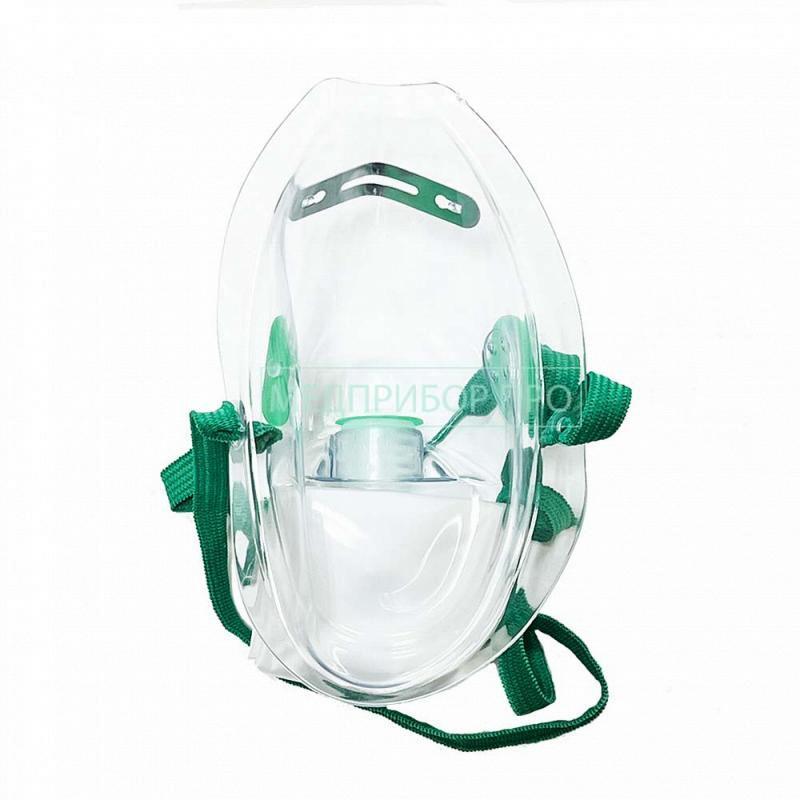 Кислородная маска без валика для больниц и дома