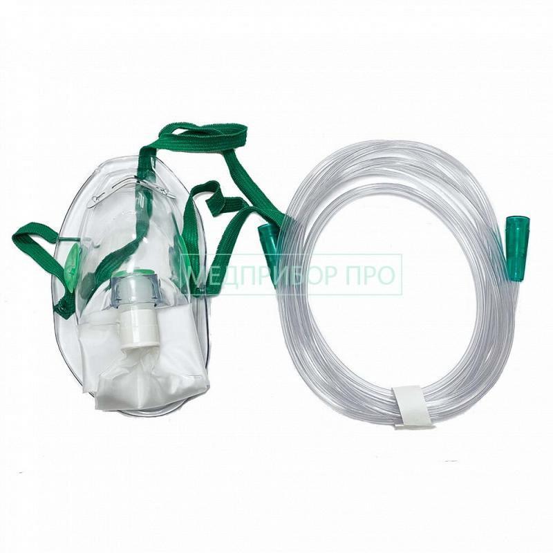 Plasti-Med маска высокой концентрации для кислородной терапии