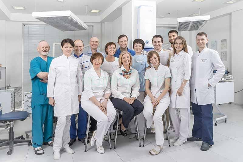 Сотрудники отдела медицинского туризма